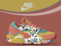 Nike Huarache Sneaker color concept