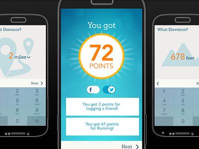 EveryMove Add Activity Screens mobile ios8 fitness healthkit awards sharing