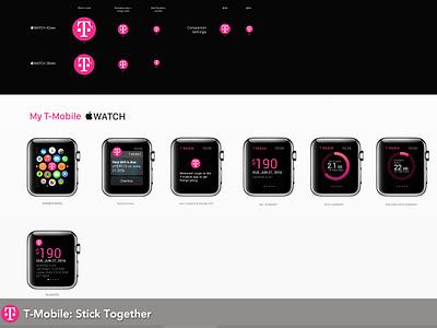T-Mobile Apple Watch App apple t-mobile magenta wearable apple watch