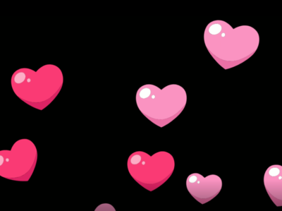 Love valentine animation background video premium