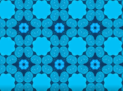 Kaleida Shapes Seamless and quick background kaleidoscopic video