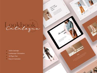 Laura – Fashion Catalogue apparel logbook a4 flyer brochure promotion design sale catalogue clothing business models mode