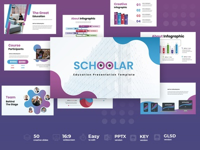 Schoolar Presentation Template