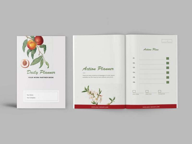 Daily Planner Workbook