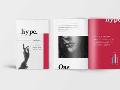 Hype – Fashion Lookbook Catalogue word print design print template fashion lookbook printtemplate brochure promotion marketing identity branding template clientproposal indd indesign companyproposal company