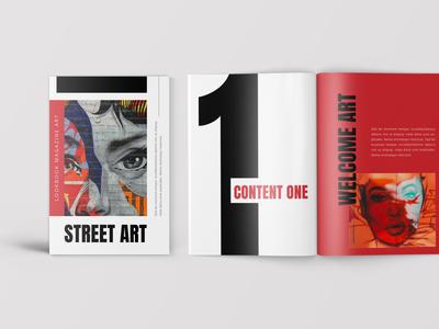 StreetArt – Pop Art Lookbook Magazine