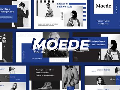 Moede – Powerpoint Presentation logbook a4 catalogue clothing models mode print design print template printtemplate brochure promotion fashion lookbook magazine indesign adobeindesign partnership proposal blogger mediakit