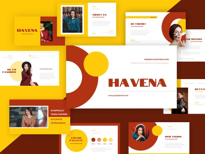 Hevana – Presentation Template company corporate identity powerpoint template modern clean presentation template template business pptx ppt powerpoint sale promotion