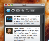 Preview of Beak 1.0 for Mac