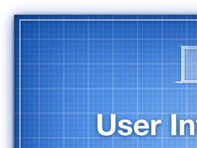 Blueprint Services Page blueprint blue web design