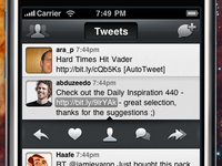 Beak for iPhone: New Tweet Actions