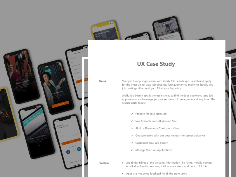 Jobify - Ux Case Study by Nelson Immanuel on Dribbble