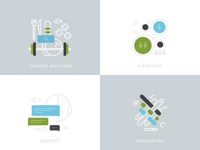 Flexyicons flat stroke clean illustrator icon