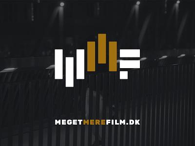 Meget Mere Film Logo logo design logoicon logo