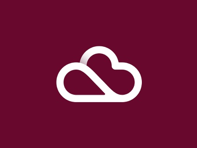 Cloud 2 flatdesign icon logodesign logo cloud