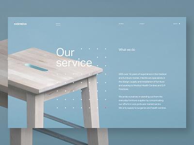 Daily UI_190613 interace interfacedesign webdesigner minimalistic website web grid dots design webdesign uiux dailyui
