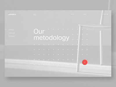 Daily UI_190613 dribbble layout grid dots minimal uidesign design uiux dailyui webdesign