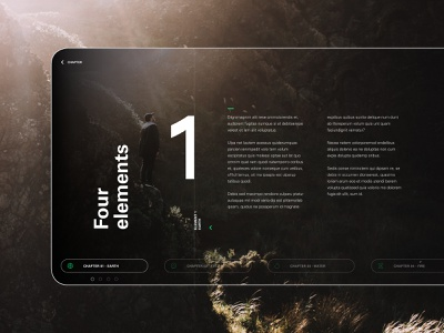 4 Elements - Earth template template design layout presentations presentation layout presentation template presentation design ux ui design logo digitalart