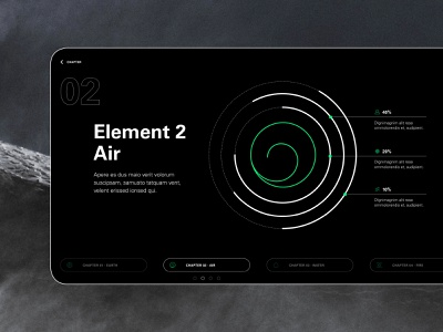 4 Elements - Air dribbble digitalart vector icondesign icon design element infographics templatedesign template presetnation design presentation