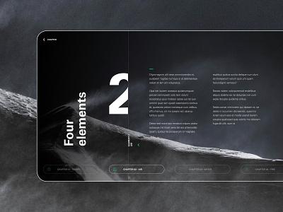4 Elements - Air digital uiux ui air element typography deckdesign deck design layout design layout presentation template presentation layout presentation design