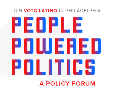 People Powered Politics go vote gotv policy nonpartisan republican democrat voto latino election dnc
