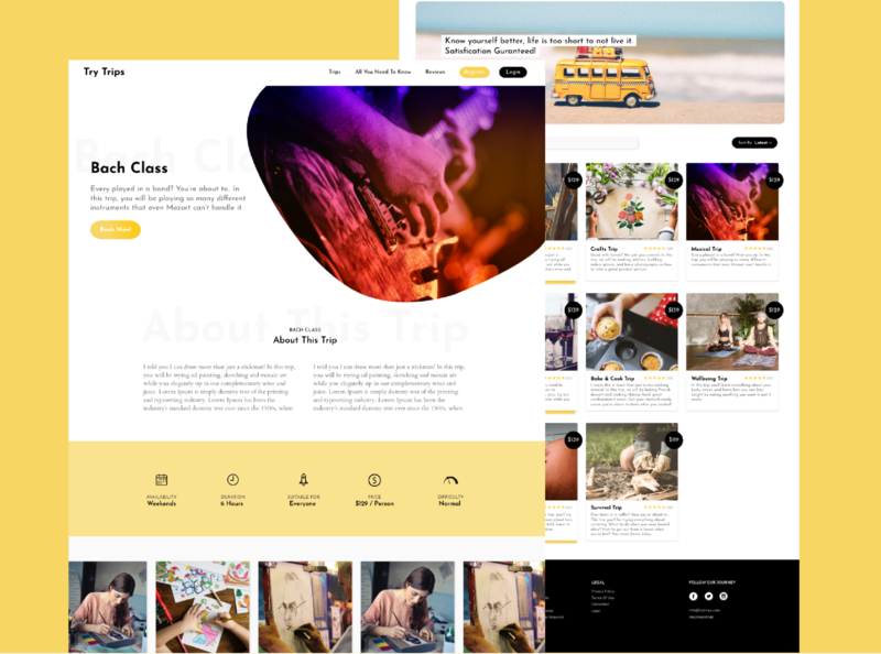 Online Classes booking web app apps application app ui booking illustration sketch booking app design ux designer ux design
