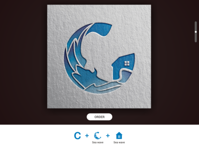 C House as Sea Logos