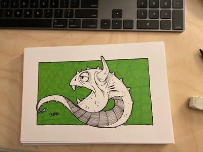 Daily Drawing - Day 1 - Bulworm