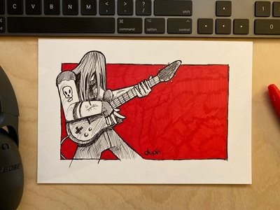Daily Drawing - Day 5 - Sound of Passion