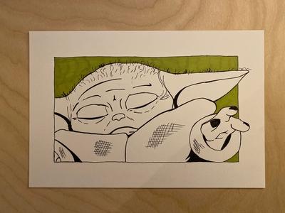 Daily Drawing - Day 13 - Baby Yoda