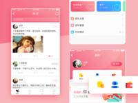 Social contact app