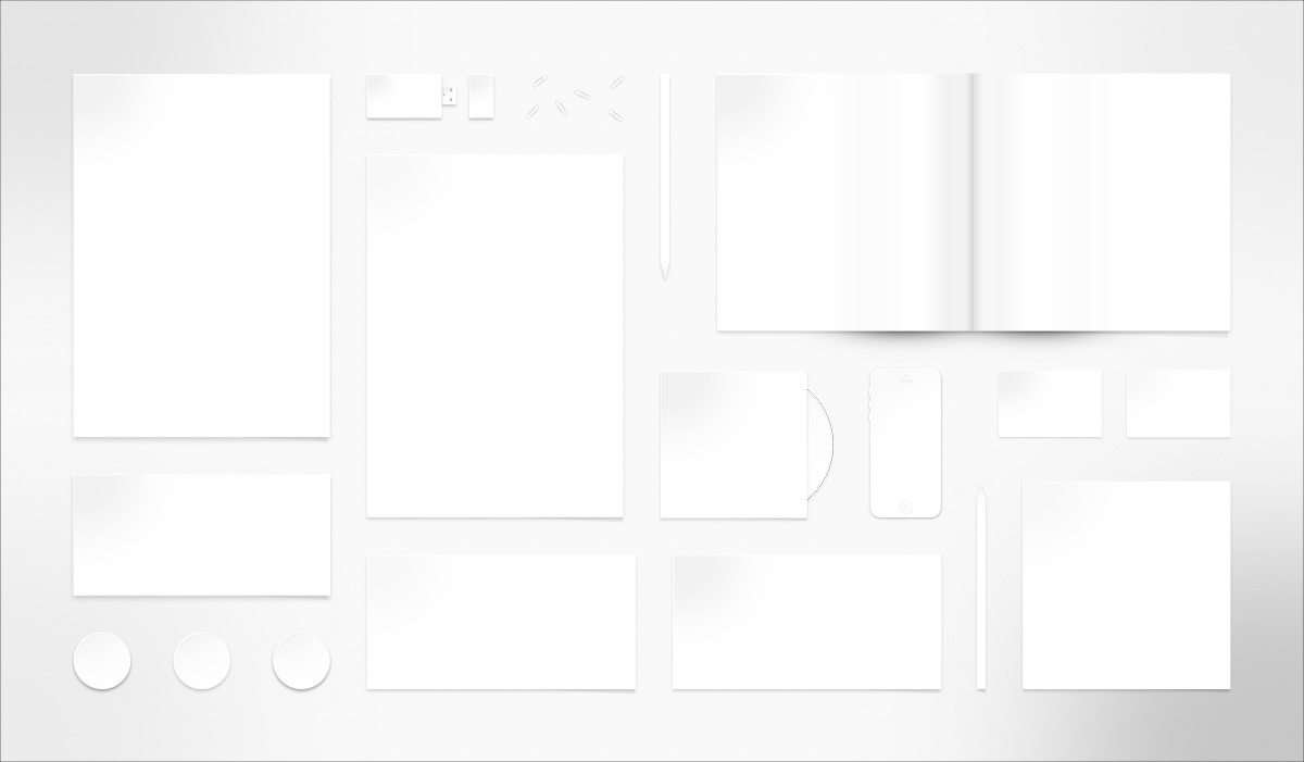 Dribbble - BLANK-Stationery_Mockup.jpg by Samuel James Oxley