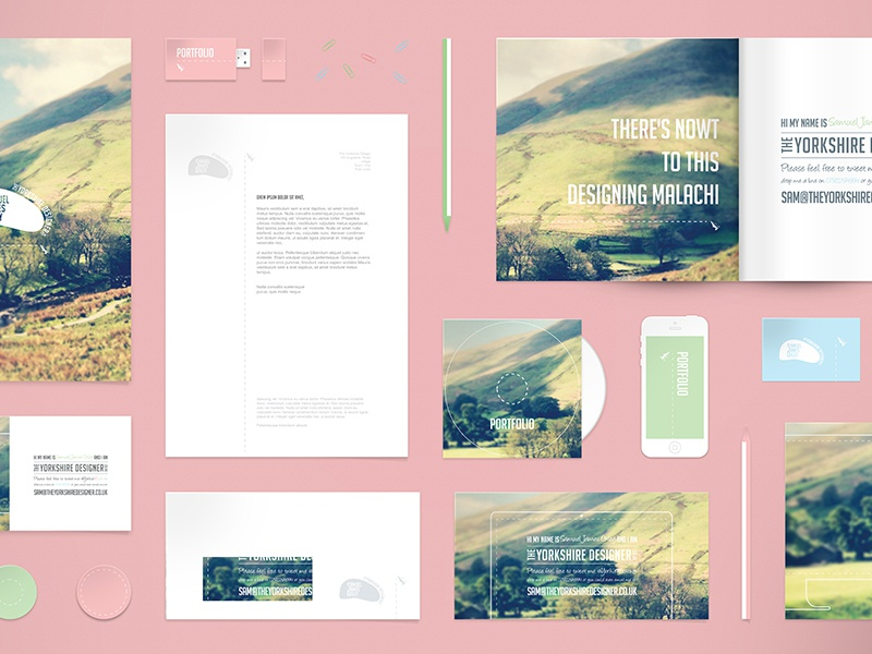 Free Stationery Mockup PSD stationery flat free freebie psd mockup brochure letterhead iphone mock up mock ups business card
