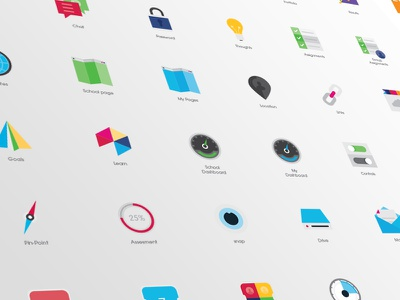 Flat UI Pack ui icon icons flat design vector app