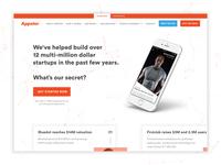 Appster Website Redesign