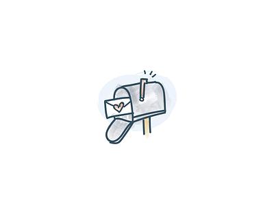 Mailbox Illustration deliver send letter mailbox mail