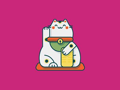 Maneki Neko beckoning cat fortune cat welcome cat maneki neko lucky cat