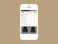 Mobile E-commerce Design for Balsam Hill