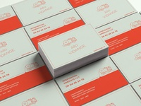 Business card for a small business branding