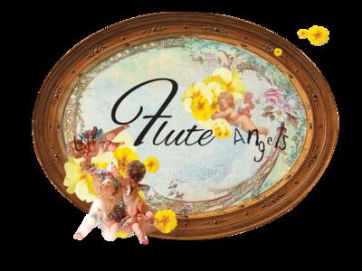 Little Flute Angels Collage