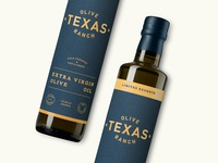 Texas Olive Ranch Limited Reserve label
