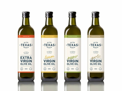 Texas Olive Ranch Everyday labels