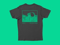 Save Our Lungs shirt