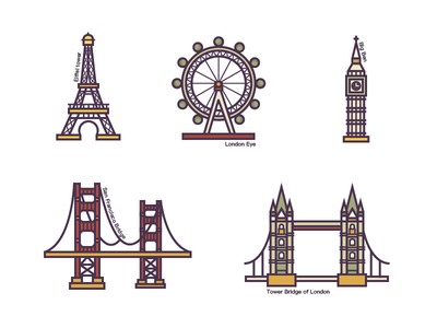 欧美知名建筑(European and American buildings) icon