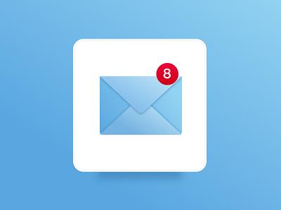 Mail App Icon dailyui mail icon app icon app design icon design
