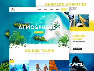 Atmospheres Website Design