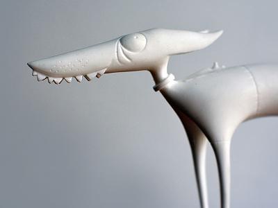 Fuchs+Dachs interior figure set hand made toy design toy craft figure design character design