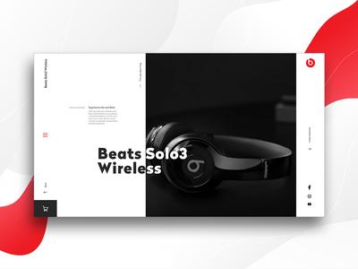 Beats Header - Concept