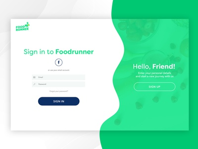 Foodrunner Login/Signup