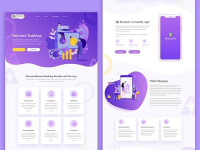 Bank Webdesign - UI UX